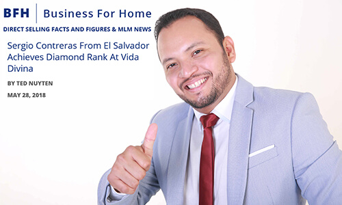 Sergio Contreras, Entrevista Business For Home